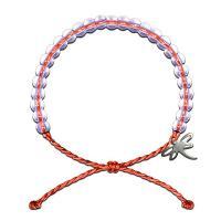Gewachsten Baumwollkordel Armband, mit Glasperlen, unisex & einstellbar, keine, 6mm, Länge:ca. 9.2 ZollInch, 10SträngeStrang/Menge, verkauft von Menge