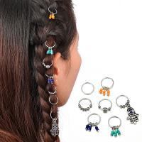 Zinklegierung Haar-Schmuck-Set, plattiert, für Frau & mit Strass, Silberfarbe, frei von Nickel, Blei & Kadmium, verkauft von setzen
