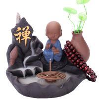 Porcelain Backflow Incense Burner, Porzellan, handgemacht, verschiedene Stile für Wahl, 160x130x140mm, verkauft von PC