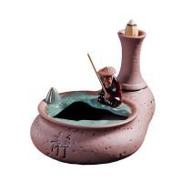 Porcelain Backflow Incense Burner, Porzellan, frei von Nickel, Blei & Kadmium, 160x120x115mm, verkauft von PC