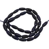 Lapislazuli Perlen, plattiert, DIY, blau, 6x6x12mm, Bohrung:ca. 1mm, 32PCs/Strang, verkauft von Strang