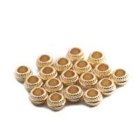 Kunststoffperlen, Kunststoff, plattiert, keine, 4X7mm, Bohrung:ca. 3.8mm, 200PCs/Tasche, verkauft von Tasche