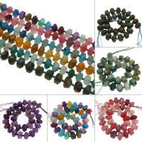 Achat Perlen, verschiedenen Materialien für die Wahl, 28x12mm, Bohrung:ca. 2mm, ca. 28PCs/Strang, verkauft von Strang