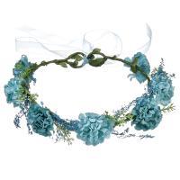 Brautkranz, Stoff, Blume, handgemacht, einstellbar & für Frau, keine, frei von Nickel, Blei & Kadmium, 180mm, verkauft von PC