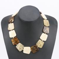 Acryl Halskette, plattiert, für Frau, keine, verkauft per 15.7 ZollInch Strang