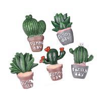 Handy DIY Kit, Harz, Opuntia Stricta, Einbrennlack, verschiedene Stile für Wahl, 50PCs/Menge, verkauft von Menge