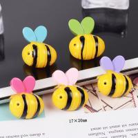 Handy DIY Kit, Harz, Biene, Einbrennlack, keine, 17x22mm, 50PCs/Menge, verkauft von Menge