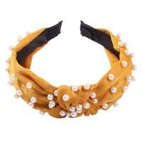 Haarreif, Stoff, mit Kunststoff Perlen, für Frau, keine, 30x165mm, verkauft von PC