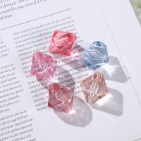 Transparente Acryl-Perlen, Acryl, plattiert, DIY, gemischte Farben, 30mm, 500G/Tasche, verkauft von Tasche