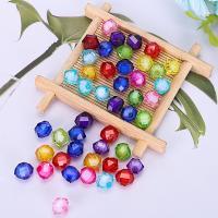 Perlen in Perlen Acrylperlen, Acryl, plattiert, DIY, gemischte Farben, 10mm, 500G/Tasche, verkauft von Tasche