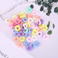 Acryl Schmuck Perlen, plattiert, DIY, gemischte Farben,  12mm, 500G/Tasche, verkauft von Tasche