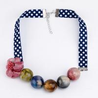 Harz Halskette, mit Band, plattiert, für Frau, keine, verkauft von Strang