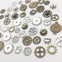 Verschiedene Komponente, Zinklegierung, plattiert, DIY & gemischt, frei von Nickel, Blei & Kadmium, 12mm, 2Taschen/Menge, 130PCs/Tasche, verkauft von Menge