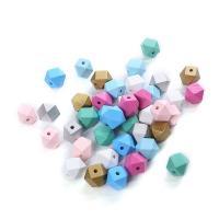 Holzperlen, Holz, poliert, verschiedene Größen vorhanden, gemischte Farben, Bohrung:ca. 1mm, 20PCs/Tasche, 5Taschen/Menge, verkauft von Tasche