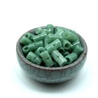 Jadeit Perlen, handgemacht, DIY & verschiedene Größen vorhanden, Bohrung:ca. 2-4.2mm, 10PCs/Tasche, verkauft von Tasche