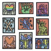 Nähen-auf Patch, Stoff, Stickerei, DIY & verschiedene Muster für Wahl, verkauft von Menge