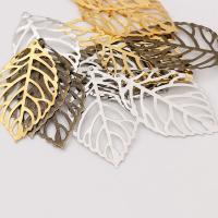 Haarschmuck DIY Ergebnisse, Eisen, Blatt, plattiert, verschiedene Größen vorhanden, keine, 100PCs/Tasche, verkauft von Tasche