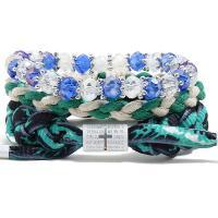Gewachsten Baumwollkordel Armband-Set, mit Kristall, für Frau, frei von Nickel, Blei & Kadmium, 220mm, 3SträngeStrang/setzen, verkauft von setzen