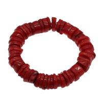 Korallen Armband, Koralle, für Frau, rot, 10*5mm-16*4mm, verkauft per ca. 7.5 ZollInch Strang
