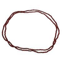 Coral Strickjacke-Kette Halskette, Koralle, mit Schwarzer Achat, für Frau, 5*3mm-6*3mm, verkauft per ca. 47.2 ZollInch Strang