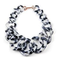 Acryl Halskette, für Frau, keine, frei von Nickel, Blei & Kadmium, 510mm, verkauft von Strang