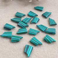 Synthetik+Malachit Cabochon, poliert, verschiedene Größen vorhanden, 200PCs/Tasche, verkauft von Tasche