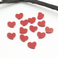 Synthetische Türkis Cabochon, Herz, poliert, DIY, rot, 5.8x6mm, 100PCs/Tasche, verkauft von Tasche