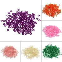 Nylon Zubehör, DIY, keine, 6.5*1.8mm, Bohrung:ca. 3mm, 1000PC/Tasche, verkauft von Tasche