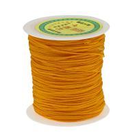Gewachste Nylonschnur Schnur, mit Kunststoffspule, gelb, 1.2mm, verkauft von Spule