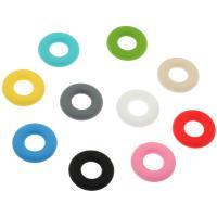 Silikon-Perlen, Silikon, Kreisring, keine, 43x43x9.50mm, Bohrung:ca. 20mm, ca. 100PCs/Tasche, verkauft von Tasche