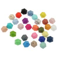 Silikon-Perlen, Silikon, verschiedene Größen vorhanden, keine, Bohrung:ca. 2mm, ca. 100PCs/Tasche, verkauft von Tasche