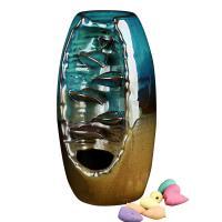 Porcelain Backflow Incense Burner, Porzellan, blau, 245x155x125mm, verkauft von PC