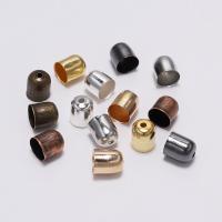 Eisen Ohrbrisure auf Ohrringe Zubehör, plattiert, DIY, keine, frei von Nickel, Blei & Kadmium, Bohrung:ca. 3.5-11.5mm, verkauft von Tasche