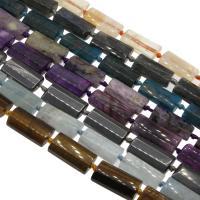 Edelstein Schmuckperlen, verschiedenen Materialien für die Wahl & facettierte, 22x13x8mm, Bohrung:ca. 1mm, verkauft per ca. 14.9 ZollInch Strang
