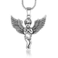 Titan -Anhänger, Titanstahl, Engel, poliert, DIY & unisex, verkauft von PC