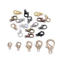 Zinklegierung Karabinerverschluss, plattiert, DIY & verschiedene Größen vorhanden, keine, frei von Nickel, Blei & Kadmium, 50PCs/Tasche, verkauft von Tasche