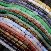Edelstein Schmuckperlen, Zylinder, verschiedenen Materialien für die Wahl, 10*6mm, ca. 38PCs/Strang, verkauft per ca. 14.9 ZollInch Strang