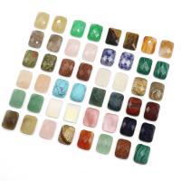 Edelstein Cabochons, Rechteck, verschiedenen Materialien für die Wahl & facettierte, 16*12mm, 10PCs/Menge, verkauft von Menge