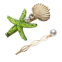 Haarschieber, Edelstahl, mit Harz & Kunststoff Perlen, plattiert, für Frau, keine, frei von Nickel, Blei & Kadmium, verkauft von setzen