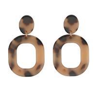 Acryl Tropfen Ohrring, plattiert, für Frau, keine, frei von Nickel, Blei & Kadmium, verkauft von Paar