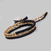 Nylonschnur Armbänder, geflochten & Folk-Stil & für Frau, keine, verkauft per ca. 10.63 ZollInch Strang