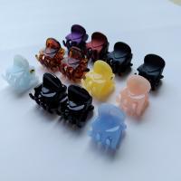 Haarklammer, Kunststoff, Koreanischen Stil & für Frau, keine, 15x17mm, 12PCs/Tasche, verkauft von Tasche