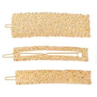 Haarschieber, Zinklegierung, plattiert, für Frau, goldfarben, frei von Nickel, Blei & Kadmium, verkauft von setzen
