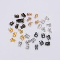 Eisen Ball Chain Connector, plattiert, DIY & verschiedene Größen vorhanden, keine, frei von Nickel, Blei & Kadmium, 200PCs/Tasche, verkauft von Tasche