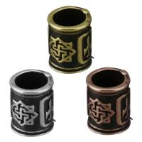 Messing-Armband-Ergebnisse, Messing, plattiert, Schwärzen, keine, frei von Nickel, Blei & Kadmium, 7.5x9.5x7.5mm, Bohrung:ca. 5.5mm, 10PCs/Menge, verkauft von Menge