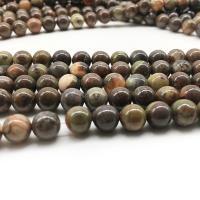 Mehrfarbenachat Perle, rund, DIY & verschiedene Größen vorhanden, verkauft per ca. 14.9 ZollInch Strang