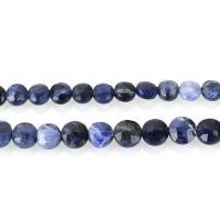 Sodalith Perlen, Sosalith, DIY & verschiedene Größen vorhanden, blau, Bohrung:ca. 1.5mm, verkauft per ca. 14.5 ZollInch, ca. 15 ZollInch Strang