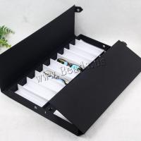 Brillenetui, Nylon, unisex, schwarz, 500x340x42mm, ca. 2PCs/Menge, verkauft von Menge