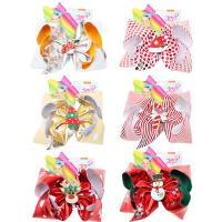 Stoff Kinder Haaraccessories, mit Eisen, Schleife, handgemacht, verschiedene Stile für Wahl, 170mm, verkauft von PC