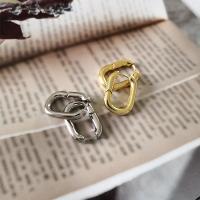 Messing Leverback Ohrring, plattiert, für Frau, keine, 18*26mm, verkauft von Paar